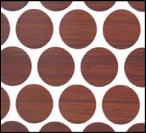 "14mm FastCap 9//16/"" 52 PVC Self Adhesive Screw Cap Covers Select Cherry"