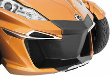 14-16 Can-Am Spyder RT FRONT FAIRING BRA SET Leather Like Black Out Grill Kit