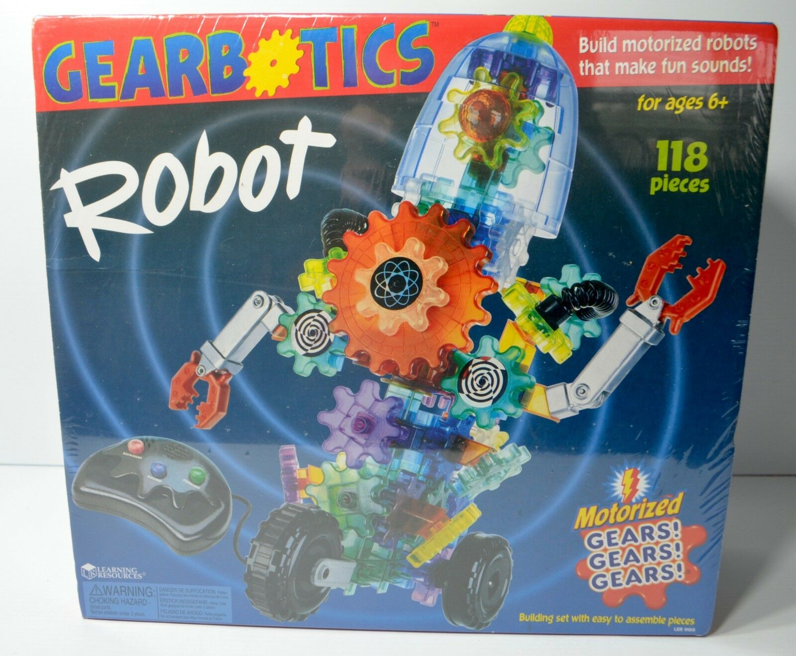 Learning Resources Gearbotics Robot Motorized Set Educational Toy LER 9188