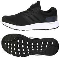 Adidas 2017 Men's Galaxy 3 Running Shoes Black/white Bb4358