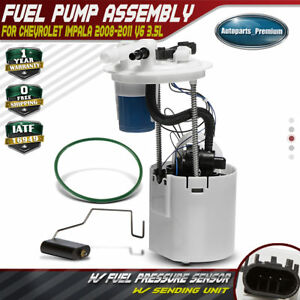 Fuel Pump Module Assembly Fits 08-11 Chevy Impala 3.5L Flex Eng E3786M