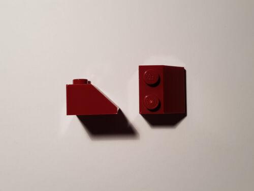#BC04 LEGO® 10 x 3039 Dach Stein 45° 2 x 2 dunkel rot 4609925 Dark Red