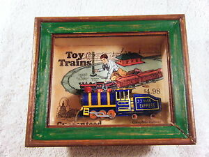 Vintage Toy Trains JJ 1118 Express Shadows OF Yesterday Toys in the Cupboard (