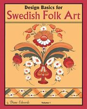 Design Basics for Swedish Folk Art, NEW BOOK