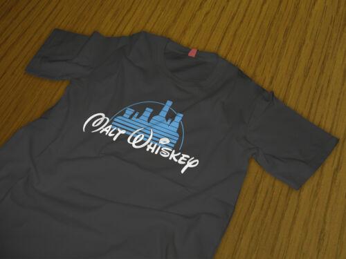 Malt Whiskey T Shirt   Walt Disney T Shirt bourbon drinkers