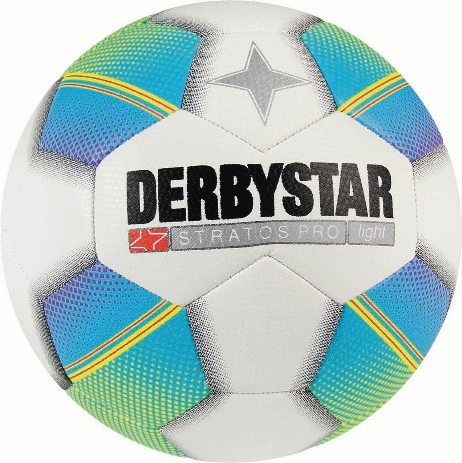 10x Derbystar Jugendfußball Stratos PRO Light  350g Größe 4 Neues Modell 2018