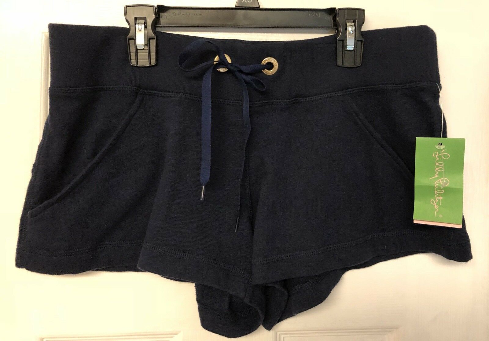 Lilly Pulitzer Marcy Short True Navy Terrycloth Lined S NWT