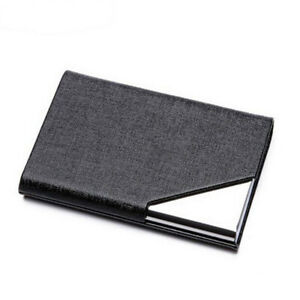 Mens-Women-Stainless-Steel-Business-ID-Credit-Card-Wallet-Holder-Pocket-Case-Box