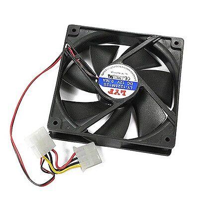 DC 12V 120mm Computer PC Case 4 Pin IDE Silent Cool Cooler Cooling Fan 1800RPM