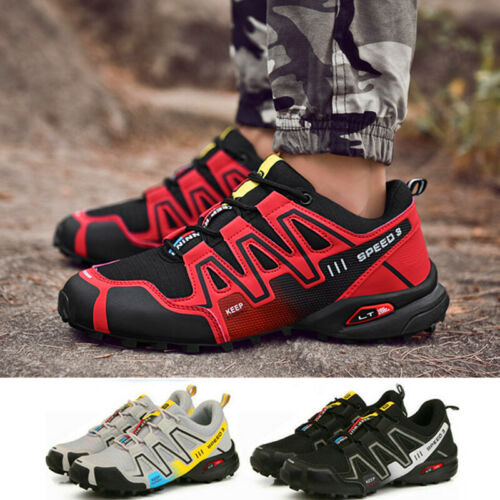 Fashion Men/'s Sports Speedcross Athletic Running Hiking Casual Shoes Sneakers