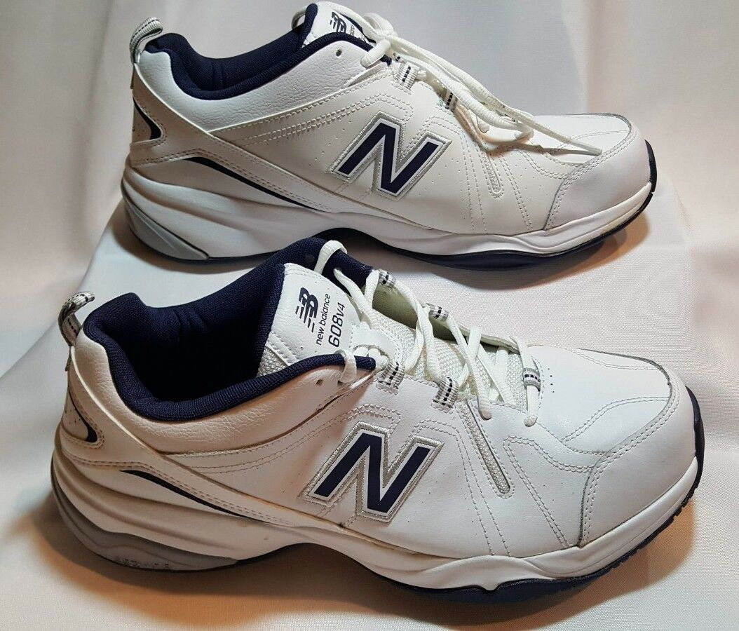 New Balance Men's Crosstrainers shoes Size 12.5  White Navy