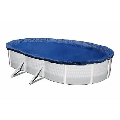 Winter Pool Cover Above Ground 18X34 Oval Arctic Armor 15 Yr Warranty w/ Clips