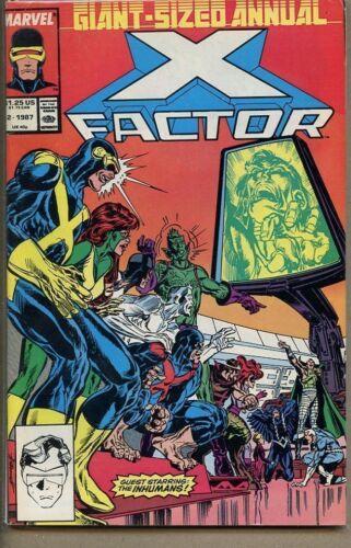 X-Factor 1986 series annual # 2 fine comic book