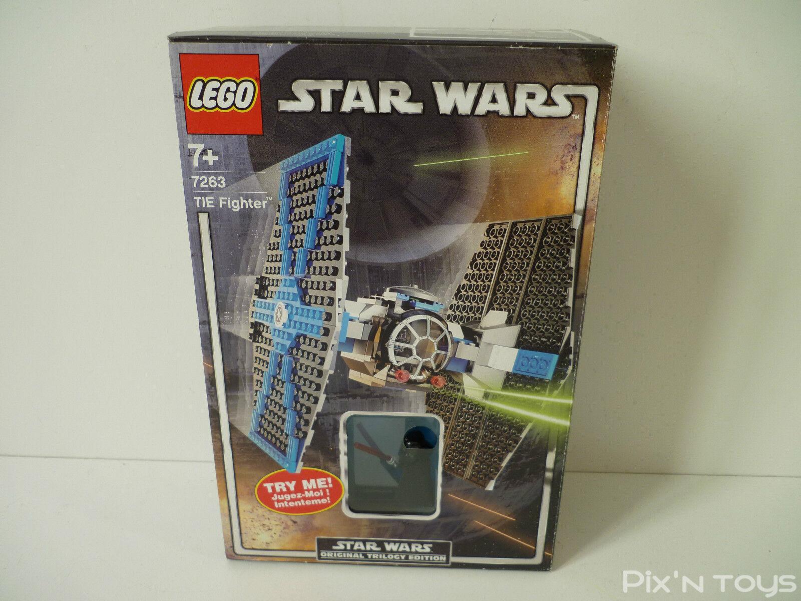 LEGO STAR WARS   7263 Tie Fighter Darth Vader's Light Up