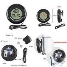 Ethmeas Mini Lcd Indoor Outdoor Digital Thermometer Round Shape With Maxmin Tem