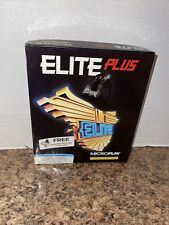 Elite Plus IMB PC Video Game ~ BIG BOX 1991 Microplay Software 5 1/4 Disc RARE