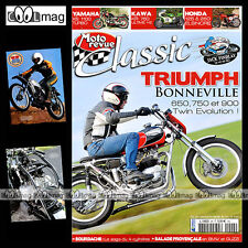 MOTO REVUE CLASSIC N°48-b TRIUMPH 650 BONNEVILLE HONDA ELSINORE KAWASAKI KR 750
