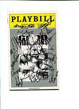 Sebastian Arcelus Janet Dacal Good Vibrations And Cast Signed Autograph Playbill