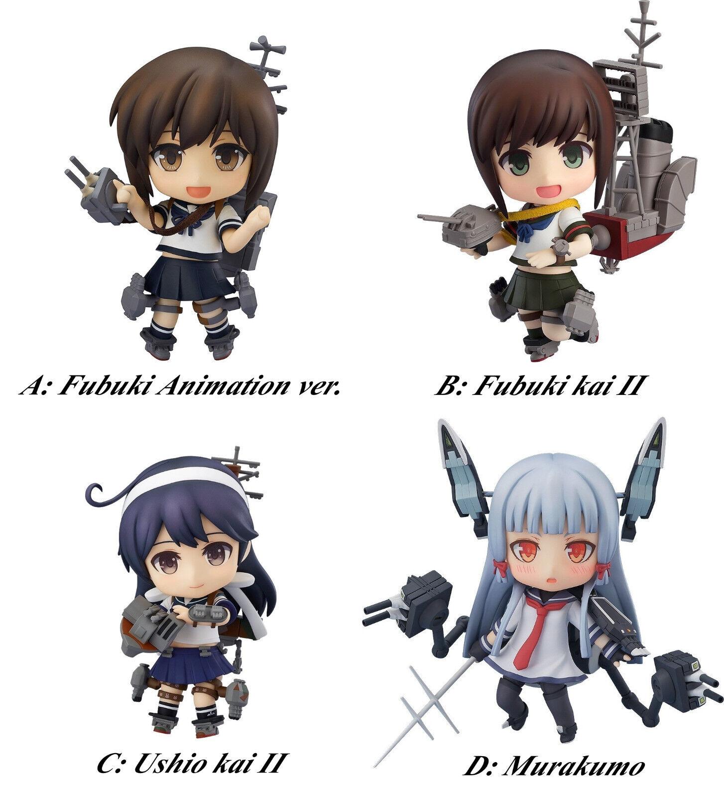 Nendoroid KanColle Fubuki Ushio Kai II destoroyer acción figura Goodsmilecompany