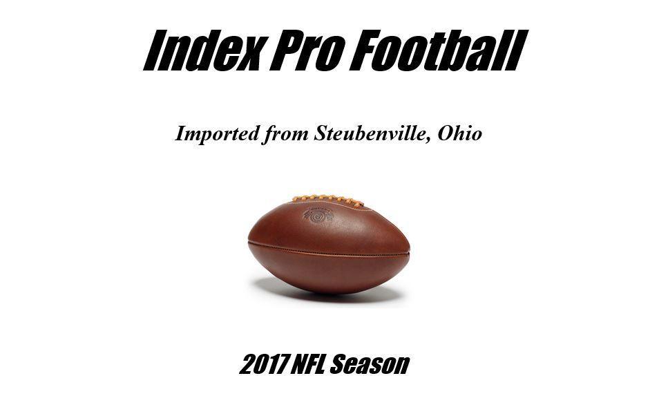 Index Pro  Footbtutti (2017 NFL Season)  più preferenziale
