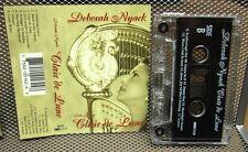DEBORAH NYACK solo harp Clair De Lune cassette tape Scarborough Fair