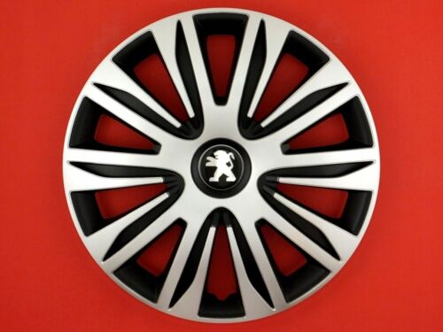 HUBCAPS 15 fit to PEUGEOT 206 207 308 406 407 607 NDM