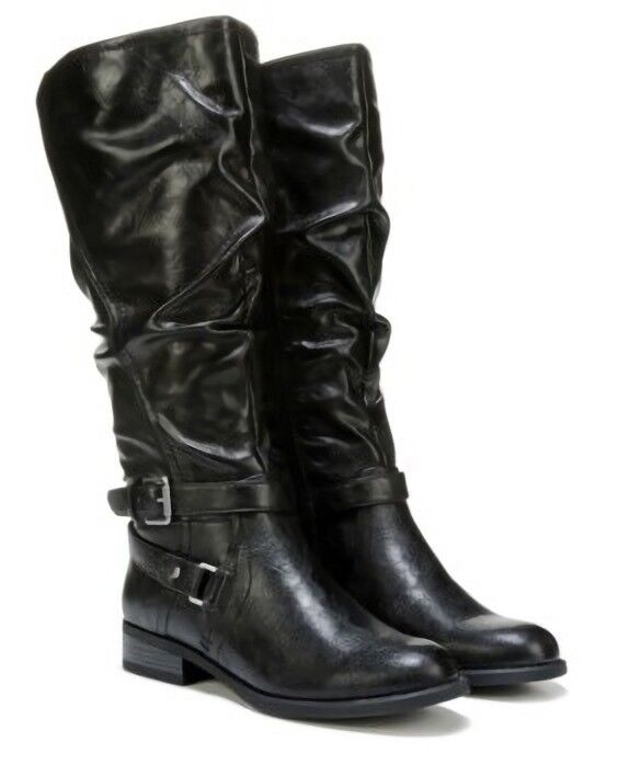 WEISS Mountain Layton knee high boots tall riding boots schwarz sz 8 Med NEU