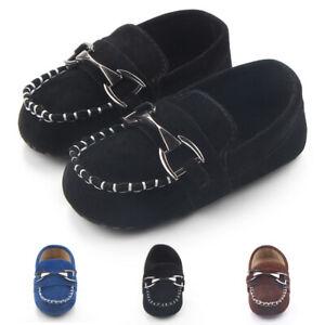 Pram Loafers Shoes Newborn Kids Baby