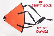 """18"""" Drift Sock - Kayak Fishing, Kayak, canoe, Saltwater, Freshwater, Made in USA"""