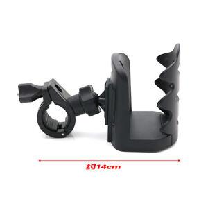 Black-ABS-Motorcross-Bottle-Cup-Holder-Handlebar-Mount-Universal-For-ATV-Bicycle