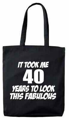 40th birthday gifts presents for her women mum wife ladies Makes Me 40 Tote Bag