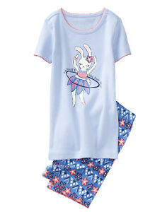 NWT Gymboree Ice Cream Sweets Short Pajamas PJs Gymmies Girls