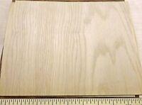 Red Oak Wood Veneer 9 X 8 On Phenolic Backer (1/20th Thick) A Grade Quality
