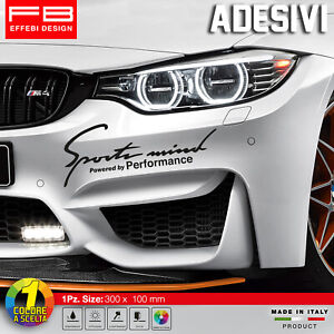 Adesivi-Stickers-Pegatinas-BMW-M-Performance-Sport-Mind-Safety-Car-Tuning-DTM