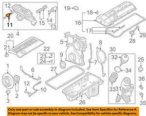 image is loading bmw-oem-01-06-325ci-engine-camshaft-cam-