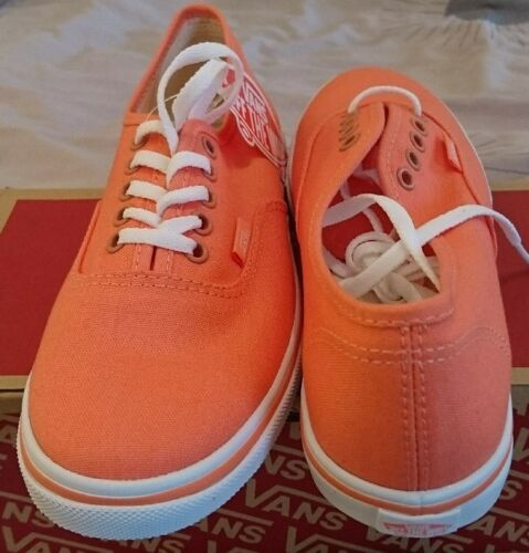 Coral Vans Dames Lo Authentic Et 4 Blanc Bnib Fusion Uk Filles Pro rYrRw