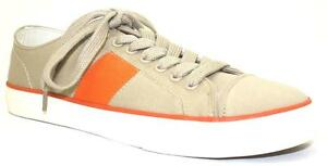 Women-039-s-Shoes-Chaps-WREN-Fashion-Sneaker-Lace-Up-Canvas-KHAKI-ORANGE