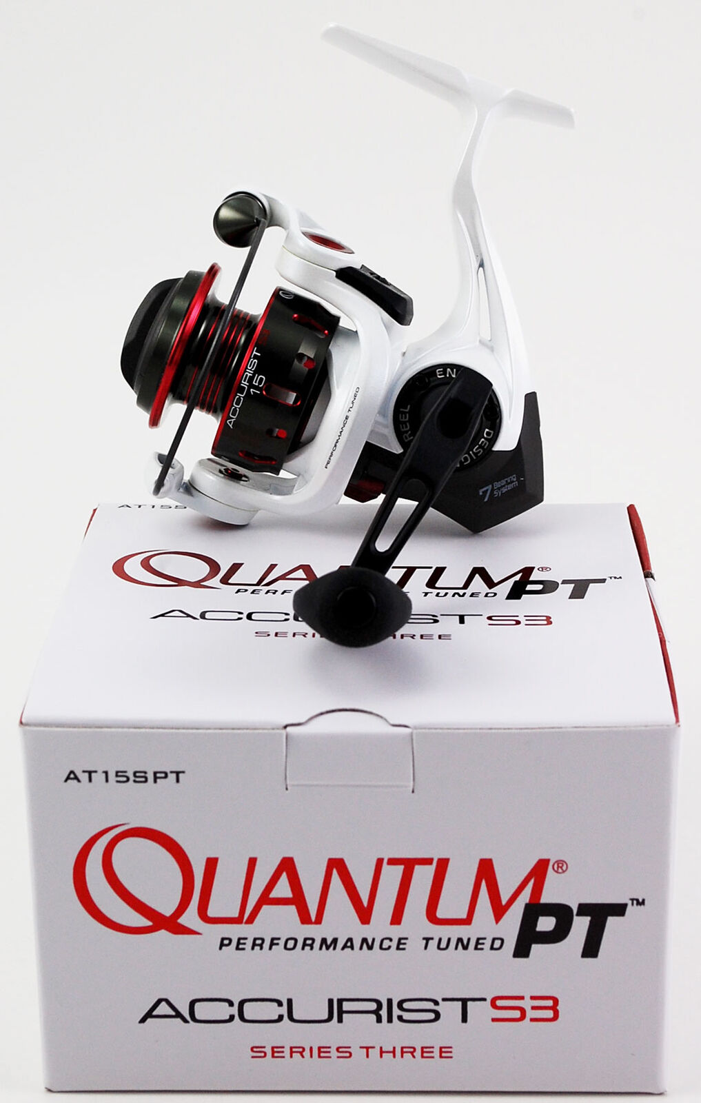 QUANTUM RATIO PT ACCURIST S3 15 AT15SPT 5.3:1 GEAR RATIO QUANTUM SPINNING REEL f75220