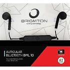 Auriculares Brigmton Bml-10 Bluetooth negro D217248