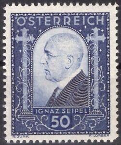 ZOR-0124-AUTRICHE-1932-N-419-IGNAZ-SEIPEL-MNH-CV-35-00