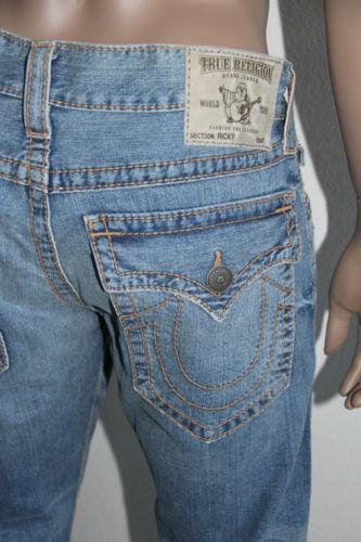 Blue 34 321 Men Jeans Ricky True Religion X 29 Gerade Mq2a401mk3 qSHRqn