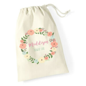 Personalised-Wedding-Bride-Flower-Girl-Bridesmaid-Favour-Drawstring-Gift-Bags