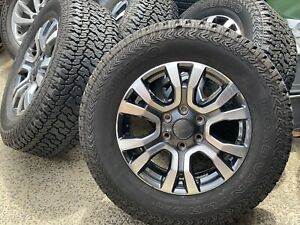4X-Genuine-FORD-WILDTRAK-RANGER-2019-18-034-WHEELS-amp-KUMHO-275-65-18-AT-TYRES