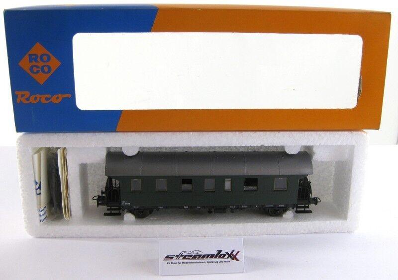 Roco 4202B H0  Personenwagen Bih 37 408 der ÖBB mit OVP X00001-18268  | Verwendet in der Haltbarkeit