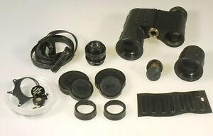 Intelligent Prl) Binocolo Jumelles Binoculars Eschenbach Farlux 8x30 Ricambi Spare Parts