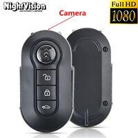Mini 1080P HD SPY DVR Hidden Camera Portable Car Key IR Lamp Video Recorder Cam