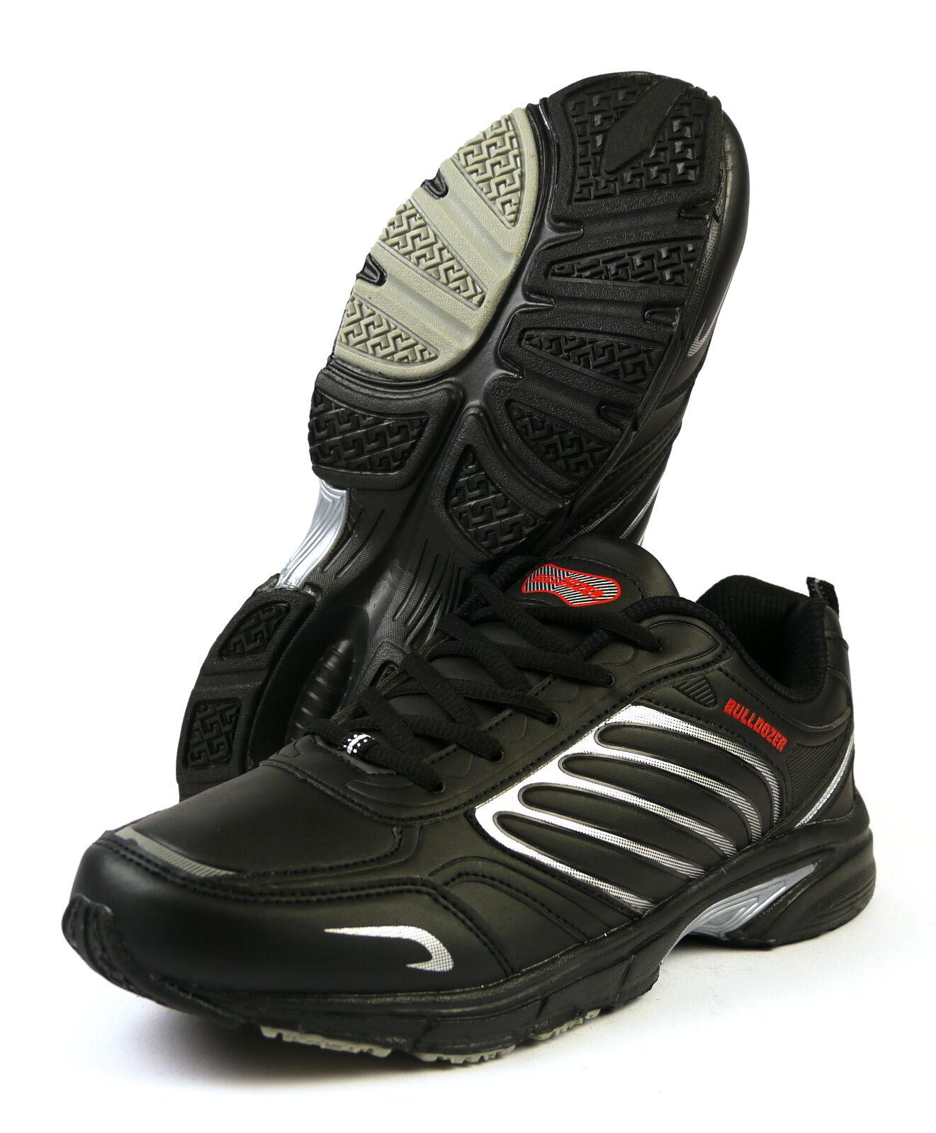 Bulldozer 3439 Sneaker Men Size 41 - 46 Black NEW
