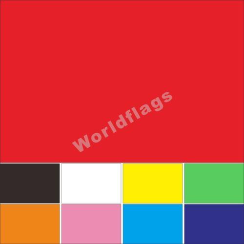 Colour Flag 3X5FT Red Black White Yellow Green Orange Pink Blue Purple Banner