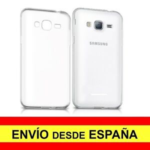 Funda Silicona Samsung Galaxy J3 (2016) Carcasa Transparente Tpu A2201