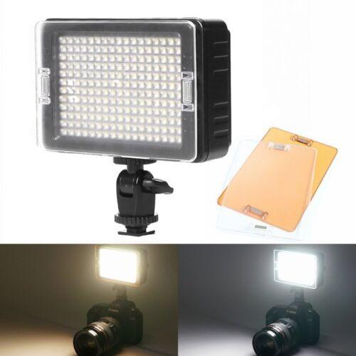 Panel de luz LED de Video Selens Regulable Universal Zapato frío en Cámara Canon Nikon